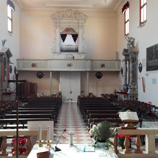 Chiesa parrocchiale di San Zenone Vescovo – Borsea (RO)